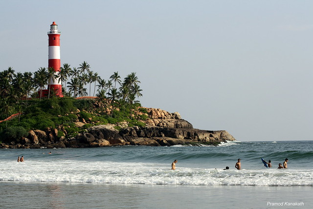Scenic Kovalam Beach
