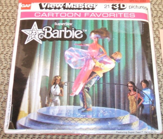 Barbie SuperStar  view-master