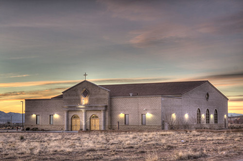 newmexico church sunrise catholic mission riorancho stjohnvianney