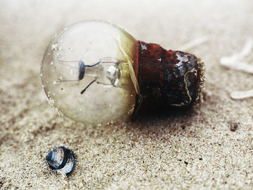 light bulb beach Wassenaar | by Erna Braat
