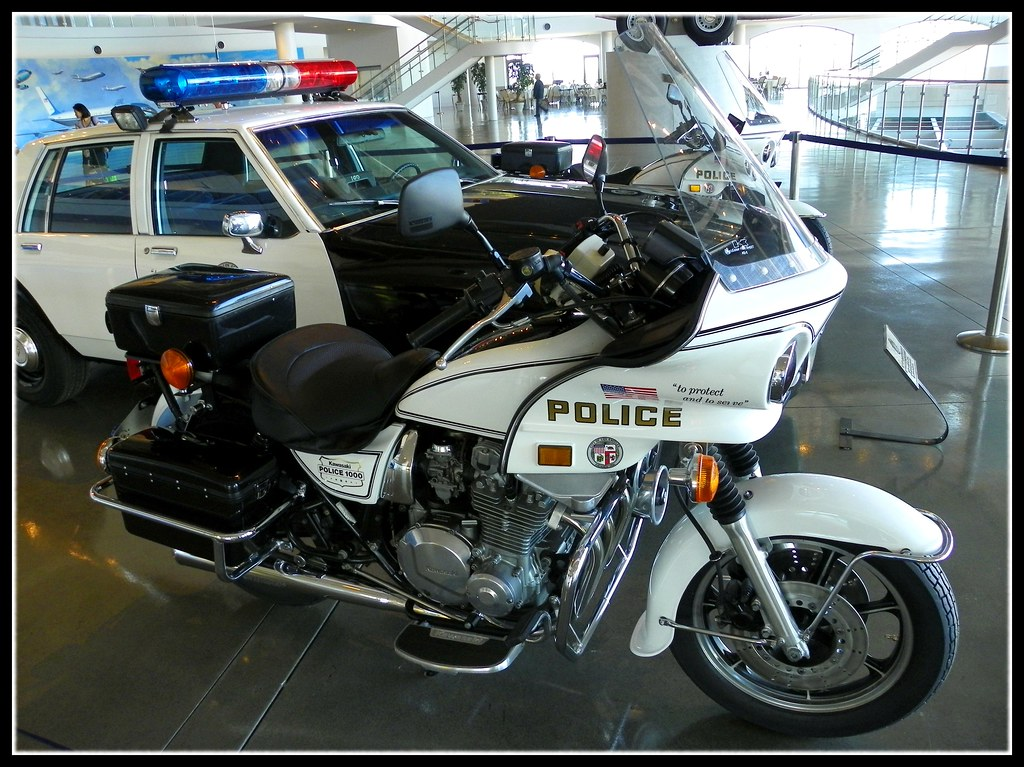 Kawasaki KZ1000 | A classic Kawasaki Police 1000 (KZ1000) at… | Flickr