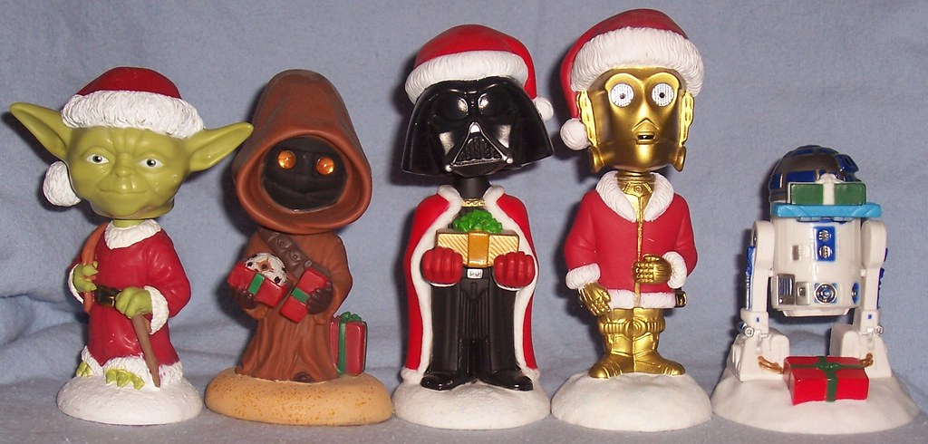Star Wars Holiday Bobble-Heads