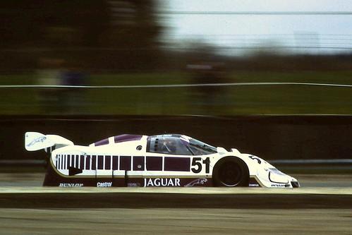 Jaguar XJR-6 - Derek Warwick & Eddie Cheever at the 1986 S ...