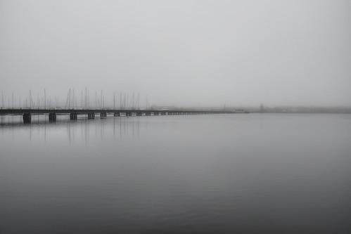 longexposure bridge water fog marina train photography nc haze nikon photographer foggy tracks northcarolina desaturated waterscape newbern