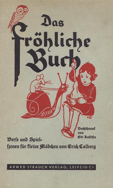 Erich Colberg / Das fröhliche Buch