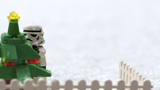 Decorating the Christmas tree or getting ready for the Christmas on Hoth | by Kalexanderson