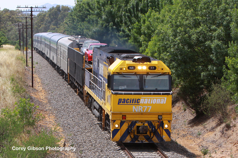 NR77 Overland at Great Western by Corey Gibson