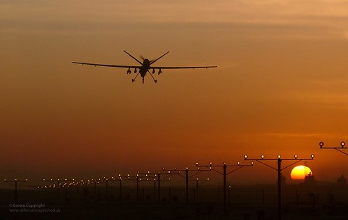 uk sunset afghanistan silhouette sunrise reaper military equipment british op uav operation campaign defense defence raf kandahar afganistan herrick unmanned drone royalairforce unmannedaerialvehicle rpas remotelypilotedairsystem
