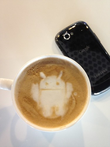 Today's latte, Android. | by yukop