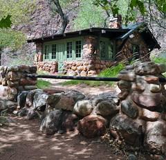 Grand Canyon National Park: Phantom Ranch Cabin 0662