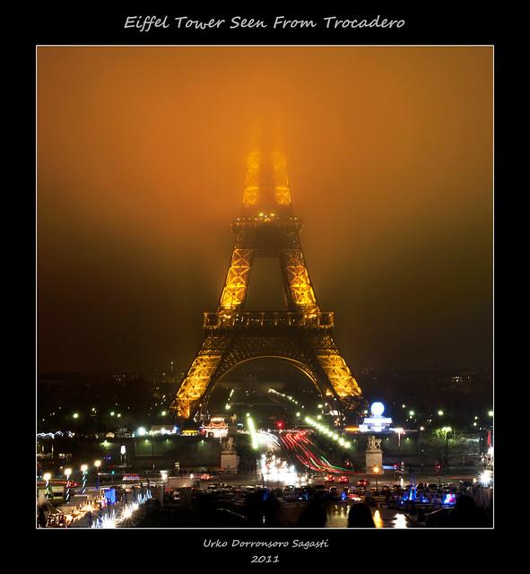 Eiffel Tower Seen From Trocadero [Explored]