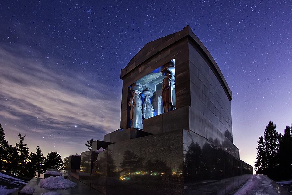 Spomenik Neznanom Junaku Monument To The Unknown Hero Moun Flickr