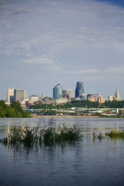 Kansas City and the river