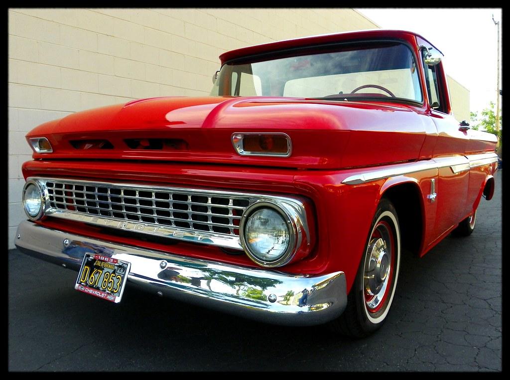 1963 chevy fleetside truck