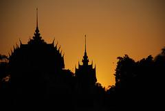 Sunset in Roi Et
