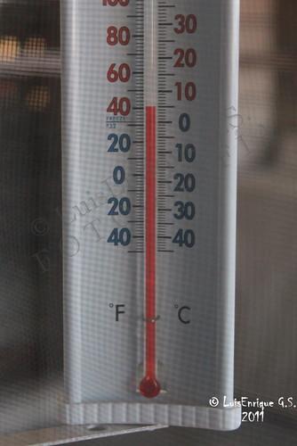 5° C - Temperatura en Puebla - México