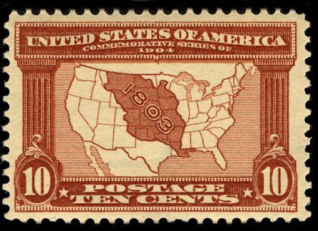 1904 04 23 Louisiana Purchase Stamp This U S Postage Stam
