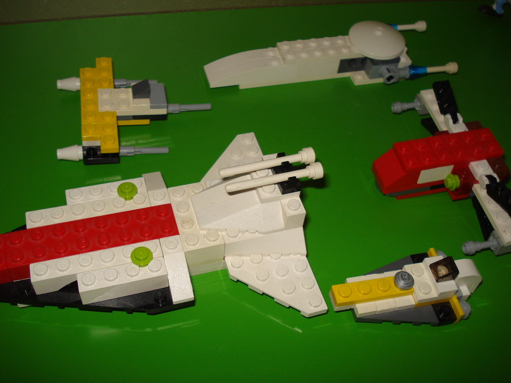My Old LEGO Star Wars Mini Space ships collection | made the