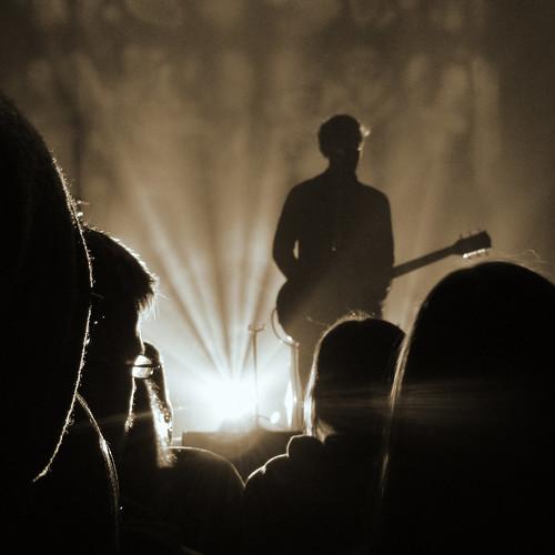 silhouette austin nikon texas tour live band coolpix thenational austinmusichall brycedessner s8100 ourdailychallenge highviolet
