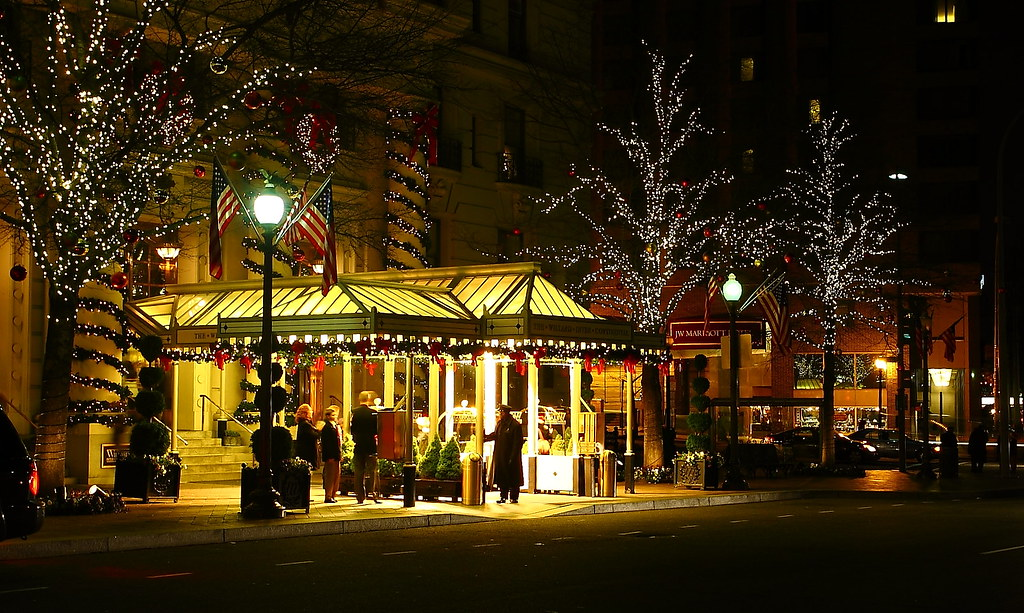 Christmas Eve In Washington.Christmas Eve In Washington The Willard Inter Continental Flickr