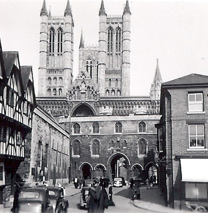 Lincoln: Castle Hill, probably 1956 | by sps1955