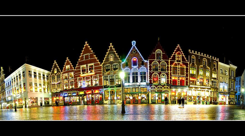 Bruges Christmas.Brugge Kerst Markt Bruges Christmas Market From Wikipedi