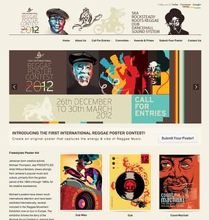 Reggae Poster Contest 2012