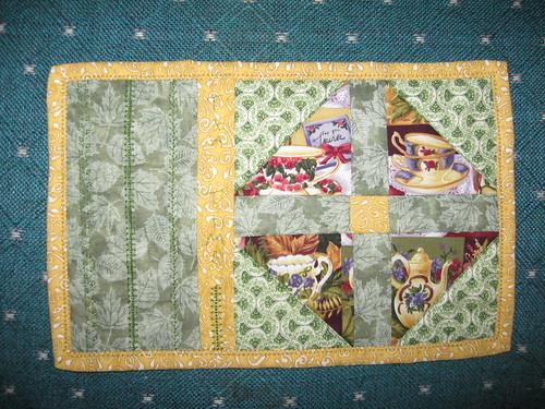 Tea Time mug rug developed from Ebony's mystery cards.jpg 001