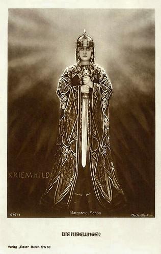 Margarete Schön in Die Nibelungen: Siegfried (1924)