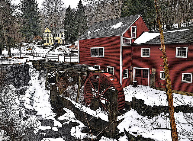 By the Old Mill Stream