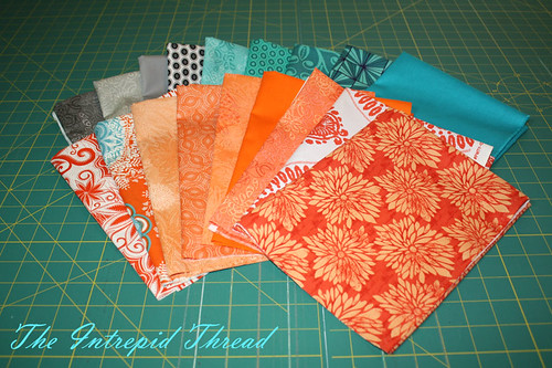 Fabrics for the Swoon-Along