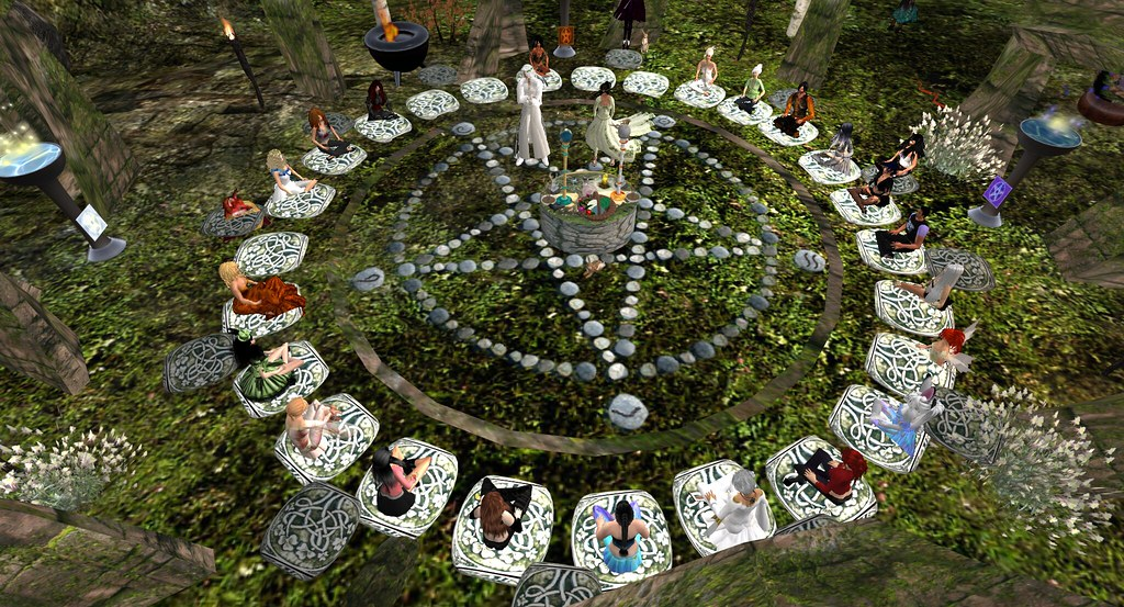 wicca ritual   dont remember was it beltane or samhain or