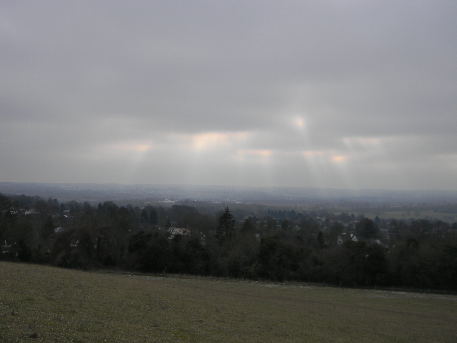 Sun over Otford Eynsford Circular