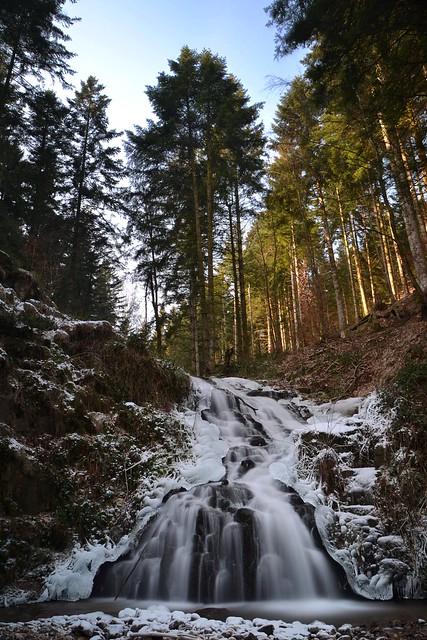 cascade de Faymont hiver 3