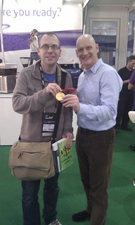 With Olympic Gold Medal Winner Duncan Goodhew