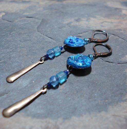 Hydro earrings | by tastykaeru