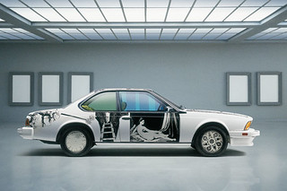 BMW-635-CSi-by-the-American-Robert-Rauschenberg-1986
