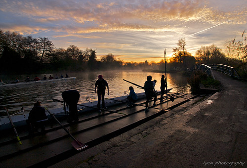 Early Morning on the River Thames, Oxford