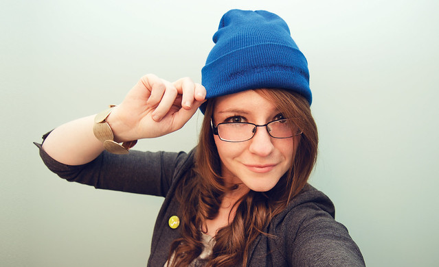 It's Blue Beanie Day! (Explored)