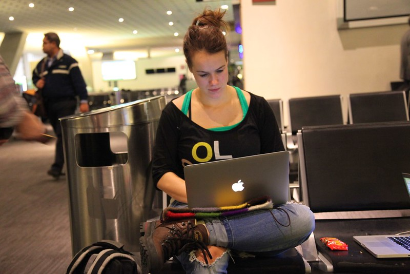 Diana Digital Nomad Airport