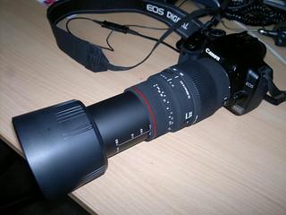 EOS 400D with Sigma 70-300 DG APO Macro 2 | My Canon EOS 400