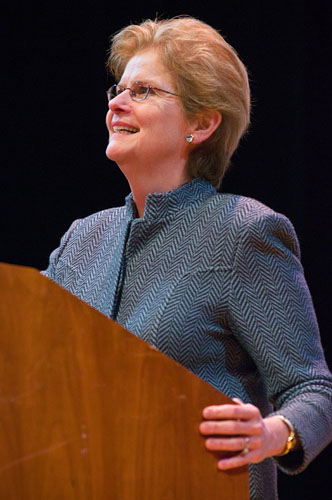 President Jane McAuliffe
