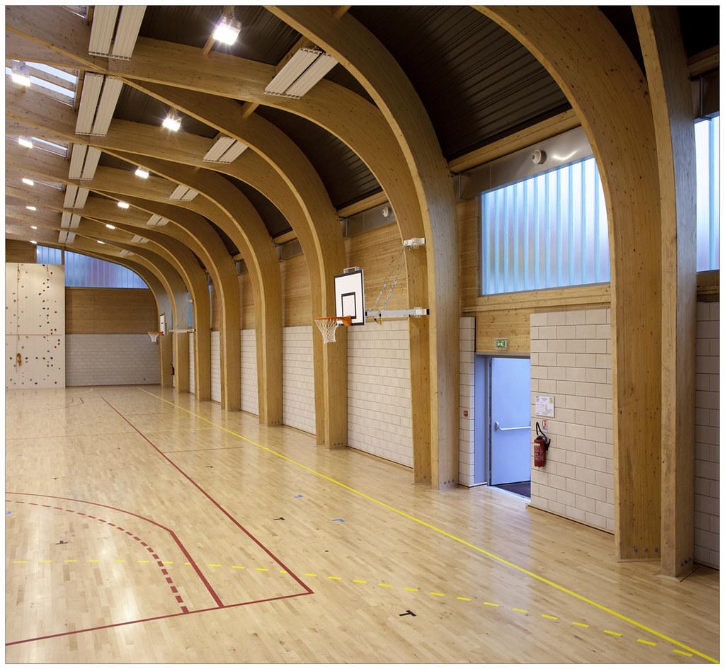 Atelier D Architecture Alexandre Dreyssé 1112_drancy_07 | gymnase regis racine, atelier alexandre dre