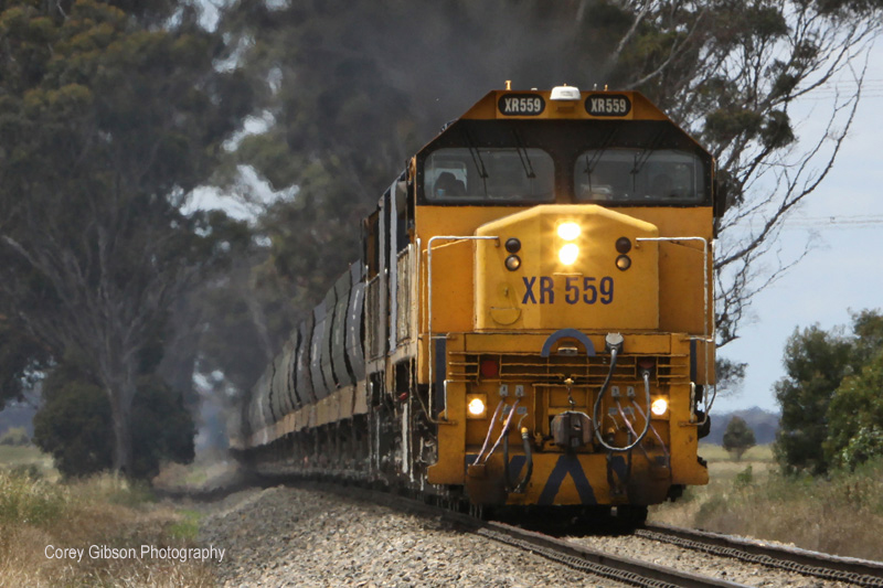 XR559 & XR555 at Berrybank by Corey Gibson
