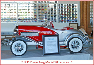 1935 Duesenberg pedal car