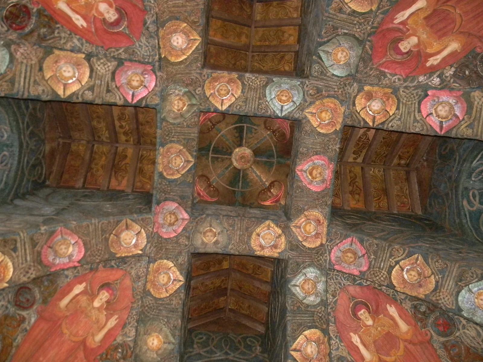 Watts Chapel - interior Wanborough to Godalming