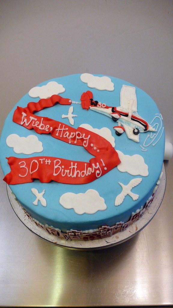 Surprising Airplane Message Cake Cakeamsterdam Com The Vanilla Sp Flickr Funny Birthday Cards Online Eattedamsfinfo