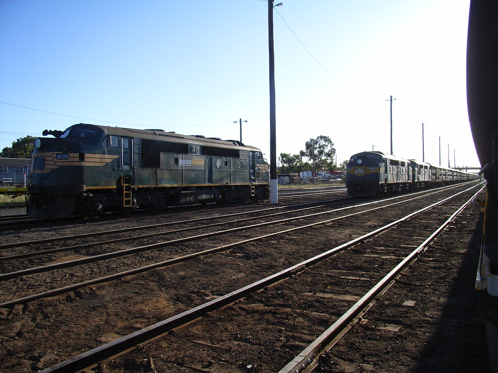 A71, A73 and A79 sit in Bendigo after coming up as 9083 by bukk05