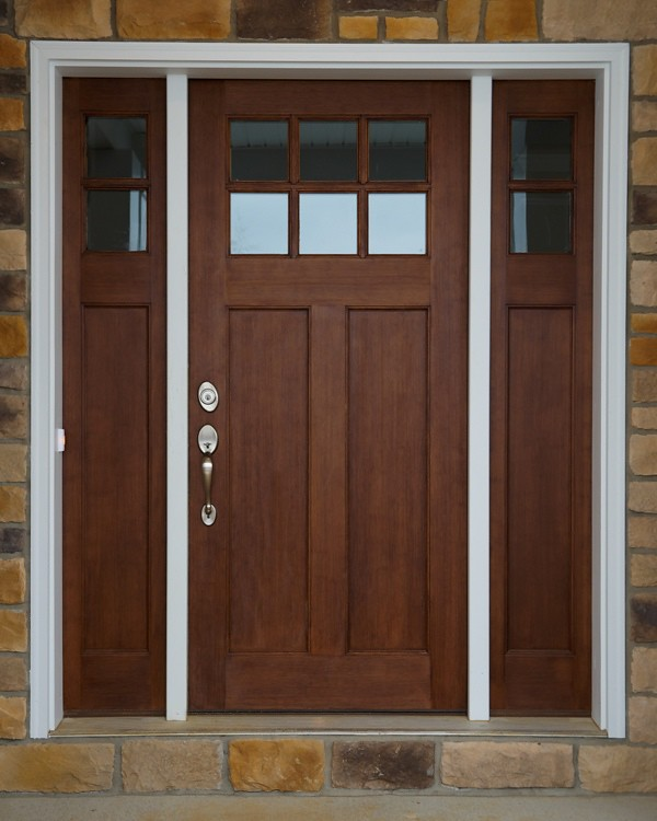 the best attitude 296a5 95e19 Craftsman Style Front Door | Newark 2999 | Wayne Homes | Flickr