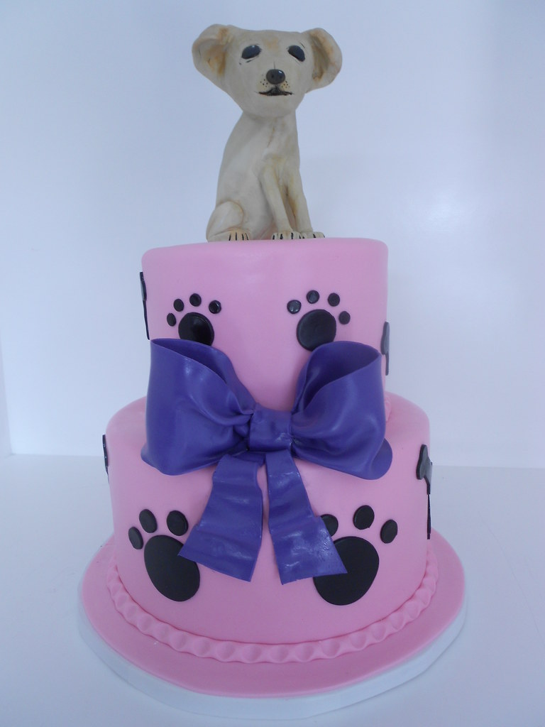 Excellent Chihuahua Birthday Cake 918 A Perfect Replica Of Nicoles Flickr Funny Birthday Cards Online Unhofree Goldxyz